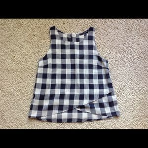 Buffalo Check Top by One Clothing LA
